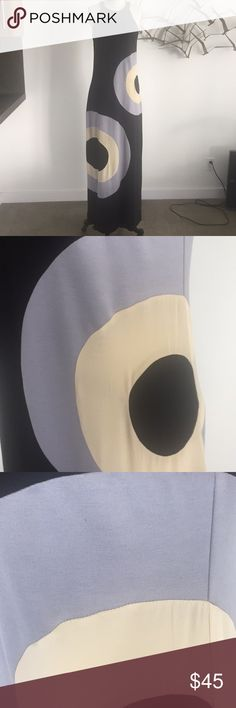 Karen Zambos 70's maxi dress Karen Zambos 70's inspired maxi dress. Poly knit. New with tags Karen Zambos Dresses Maxi