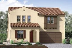 Aura Plan 2AR - Traditional Elevation | Pardee Homes