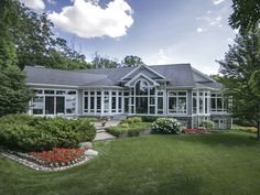 Beautiful Lake Geneva Lakefront Home for sale! Listed at $5.875M the home sits on 3 acres with 201' of Geneva Lake frontage! @bobwebster