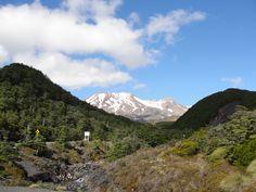 Mt. Ruapehu & Turoa Ski field, Ohakune, NZ. Photo by: Catherine Gannon
