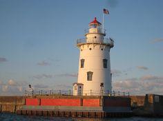Harbor Beach Light, Lake Huron