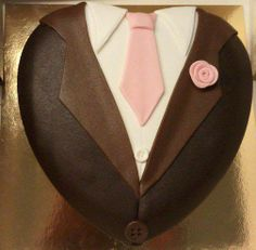 Father's day tie cake