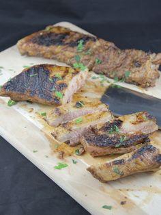 Travers de porc à la texane / loin ribs : Recette de Travers de porc à la texane / loin ribs - Marmiton