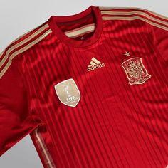 Camisa Adidas Seleção Espanha Home 2014 s nº - Torcedor - Compre Agora b9ff4a2dadb7d