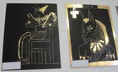Sixth Grade Egyptian Art Project