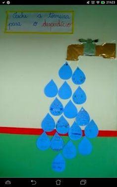 Poupa agua
