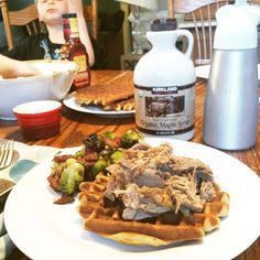 Pork and waffles, Paleo Parents Weekend Wrap Up, 3/22: Flippin' WHAT?!