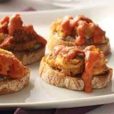 Fried Calamari Crostini