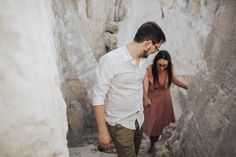 Abandoned places are the best places // Engagement shoot // Quarry engagement shoot // Helena Tomas Photography