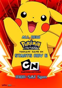 Cartoon Network's Pikachu posters.