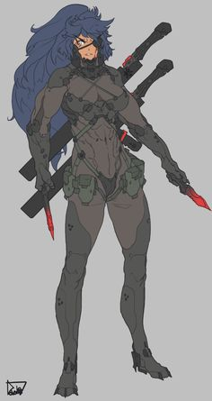 DeviantArt is the world's largest online social community for artists and art enthusiasts, allowing people to connect through the creation and sharing of art. Female Character Design, Character Design Inspiration, Character Concept, Character Art, Cyberpunk Character, Cyberpunk Art, Cyberpunk 2020, Armor Concept, Concept Art