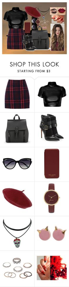 """""""If we go down we go down together"""" by marine081698 ❤ liked on Polyvore featuring Oasis, Balmain, La Perla, Ted Baker, Accessorize, Nine West and Charlotte Russe"""