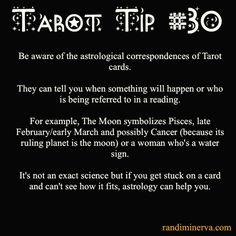 Randi Minerva | ★ Tarot Tips for the 21st Century Witch ★