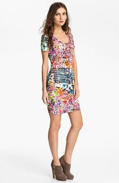 Nicole Miller 'In the Sun' Jersey Sheath Dress