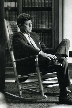 Sure its a big job; but I dont know anyone who can do it better than I can ~ John Fitzgerald Kennedy, 35th President of the United States