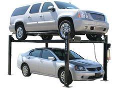 XH-PRO8000-2101 Garage Hoist, Garage Car Lift, Car Hoist, Garage Tools, Garage Shop, 4 Post Car Lift, Four Post Lift, Automotive Shops, Restoration Shop