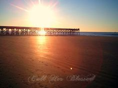 We took this on the Isle of Palms, South Carolina...one of our favorite places on earth.