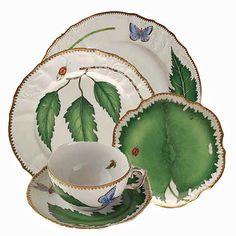 Anna Weatherley Green Leaf