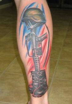 Soldiers tattoo spartan samurai army soldier tattoos i for Fallen soldier tattoo