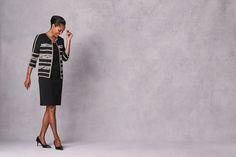 Ming Wang - Fashion Basics Fall 2017 | Contemporary Fashion | On Trend Style | Tailored Fashion |  Fashion | Wear To Work | Timeless Fashion | Style Icon | Little Black Dress | Blazer