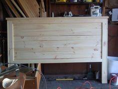 Wood Headboard Patterns | My first Project Reclaimed-Wood Look Headboard, King Size | Do It ...