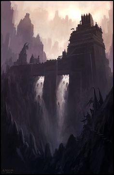 Twin Falls  by Andreas Rocha