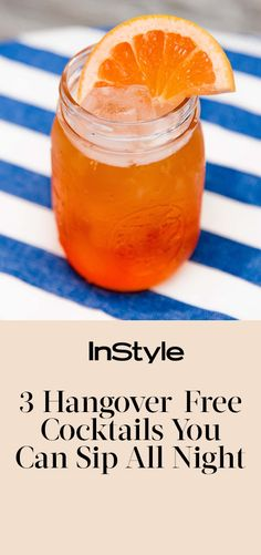 3 hangover-free cocktail recipes