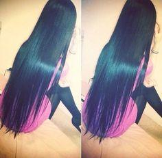 Long hair is very beautiful