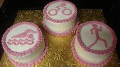Charity's Sunshine Sweets: Triathlon cakes