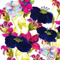 #textiledesign \\ ©CharlotteDuffyDesign