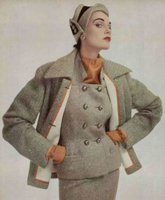 1952 Manguin drape suit