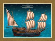ΠΙΓΚΟΣ Όλες οι εικονογραφήσεις είναι από το βιβλίο της ΑΡΤΕΟΝ ΕΚΔΟΤΙΚΗΣ: Πειρατικά και κουρσάρικα σκαριά των θαλασσών μας. 18ος-19ος αιώνας. Ένα ταξίδι στον κόσμο των πειρατικών και κουρσάρικων σκαριών και στη ζωή των προγόνων μας. www.e-arteon.gr Sailing Ships, Boat, Dinghy, Boats, Sailboat, Tall Ships, Ship