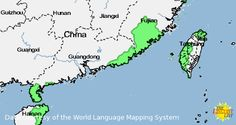 Click for more information on Chinese, Min Nan from LL-MAP
