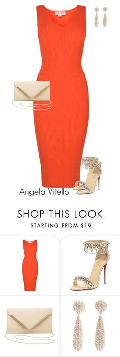 """Untitled #980"" by angela-vitello on Polyvore featuring MICHAEL Michael Kors, Christian Louboutin and Charlotte Russe"