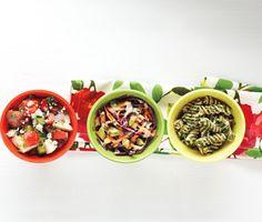 Summer salad makeover: 3 delicious recipes #salad #recipe