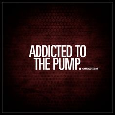 """""""Addicted to the iron. Addicted to the iron. We LOVE the gym. We love training. We love all the challenges in the gym and the feeling of a great workout. The iron. The hard work. Like and save this pin if you are addicted to the iron! Gym Motivation Quotes, Fitness Quotes, Fitness Humour, Lifting Motivation, Exercise Motivation, Best Gym Quotes, Body Pump Workout, Fit Life, Motivational Quotes"""