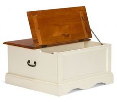 Cannes Sofabord med opbevaring - MDF/Pinietræ