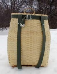 Maine Woods Pack Basket Kit+ the extras:  the handle, base, straps and beginners kit