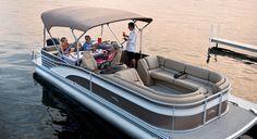 R25 Dinette Pontoon Boats by Bennington