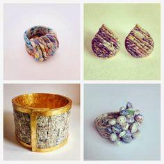 Carta & Carta: Cartalana : gioielli in filatura di carta !