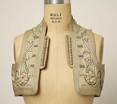 Vest, early 20th century, Macedonian