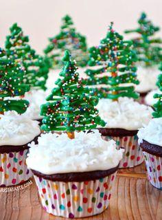 White Chocolate Crackle Trees - Coles Recipes & Cooking   Ho ho ho ...