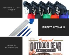 Paracord, Outdoor Gear, Simple, Projects, Log Projects, Blue Prints, Parachute Cord