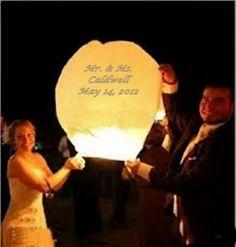 Chinese Sky Lanterns Wishing Wedding Unity by WeddingsofSanDiego, $3.99