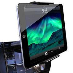 Koomus Koomus CD-Air Tab CD Slot Universal Tablet PC Car Mount Holder Cradle for iPad Air 2, iPad Mini 4, iPad and Android Devices
