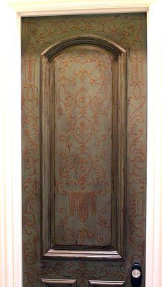 Powder Bath Door, Windermere, Florida by Jeff Huckaby