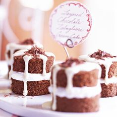 Layered Chocolate-Zabaglione Cream Cakes A frothy delight, Zabaglione is one of Italy's most prized desserts. Here it crowns a springy chocolate sponge cake; another time, try it simply spooned over sliced fruits.