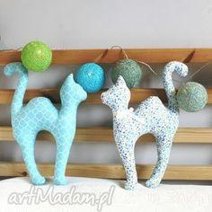 dekoracje maskotka kocie figle , kot, kotek, zabawka, grzbiet dom