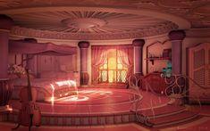 Disney Princess Bedroom, Princess Bedrooms, Princess Room, Anime Princess, Royal Princess, Princess Nursery, Episode Interactive Backgrounds, Episode Backgrounds, Anime Backgrounds Wallpapers