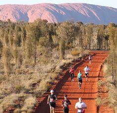 Australian Outback Marathon Follow us and use hashtag #wonderfulrunning to join the movement via @travelingfit